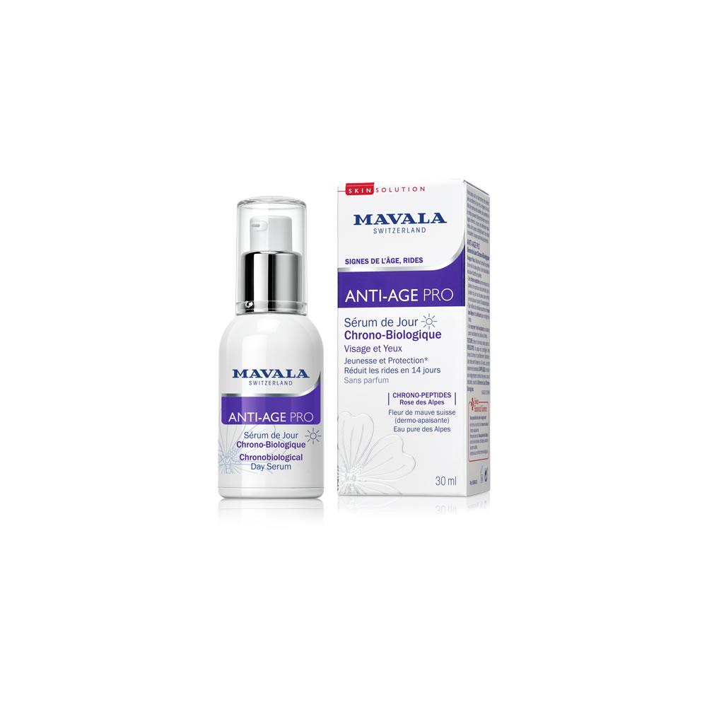 Un exemple de produit MAVALA affiché sur le site