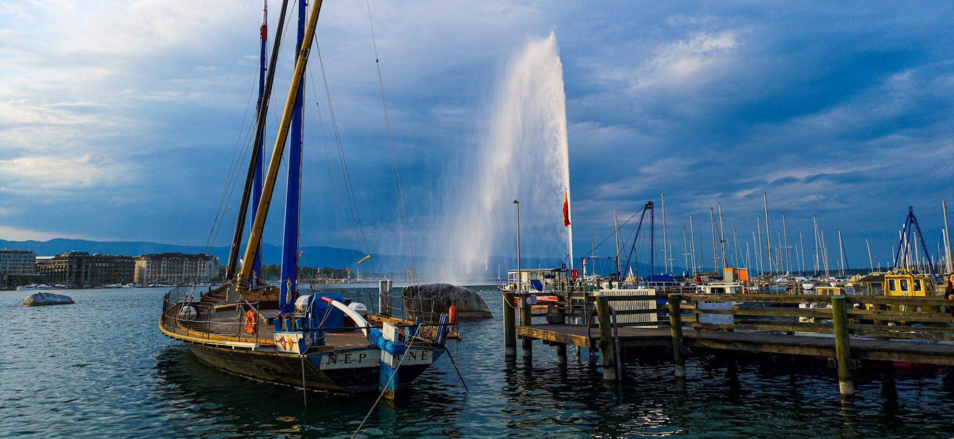 Le Web Concret — Genève, le lac